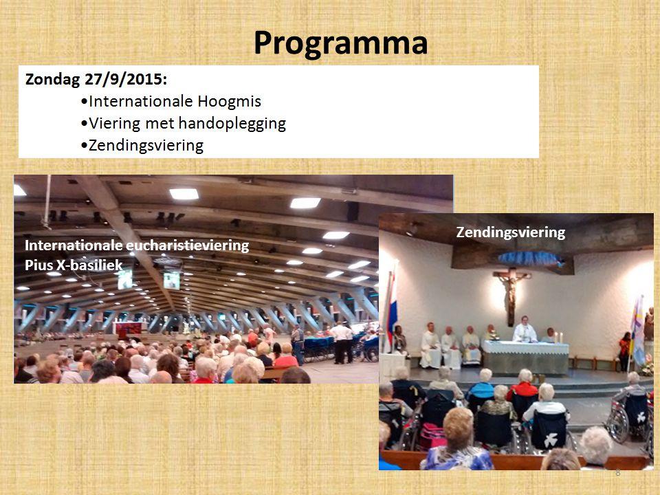 Programma Zegening devotionalia 9
