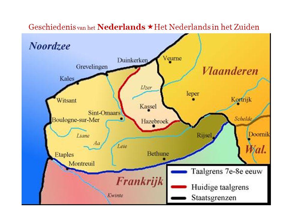 Frans-Vlaanderen  Er worden nog Vlaamse dialecten gesproken, maar steeds minder  Verklaring?