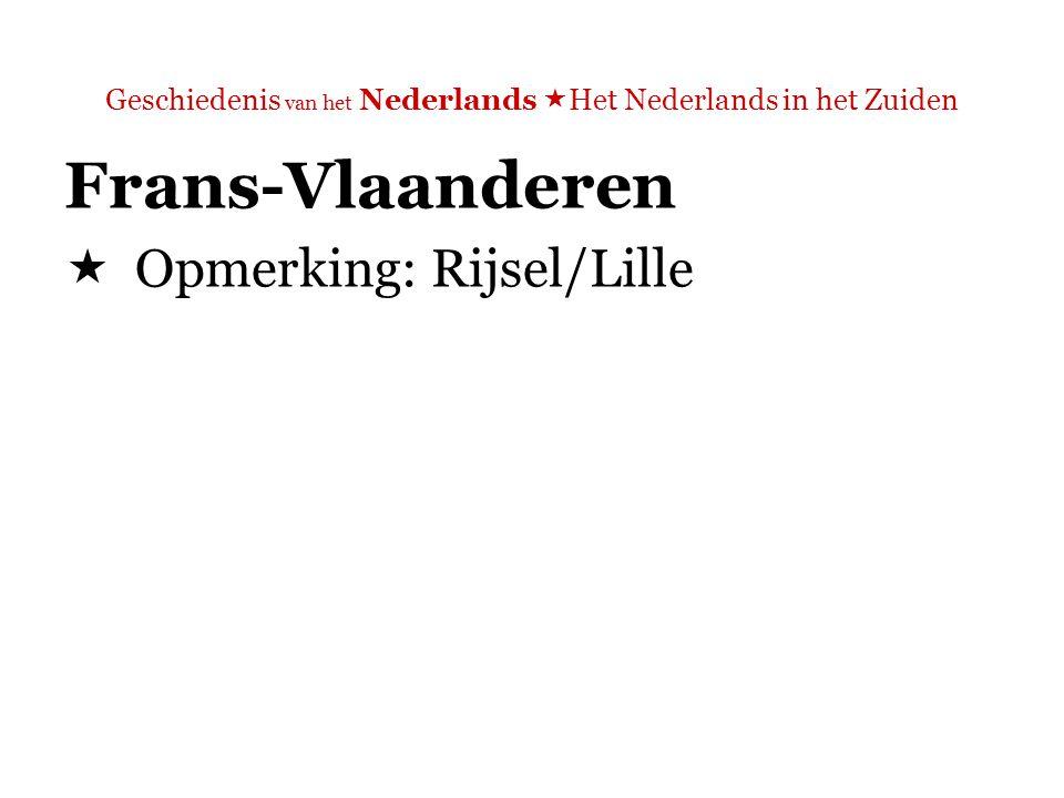 Geschiedenis van het Nederlands  Het Nederlands in het Zuiden Taalgrens in België  Pas 30 jaar oud!