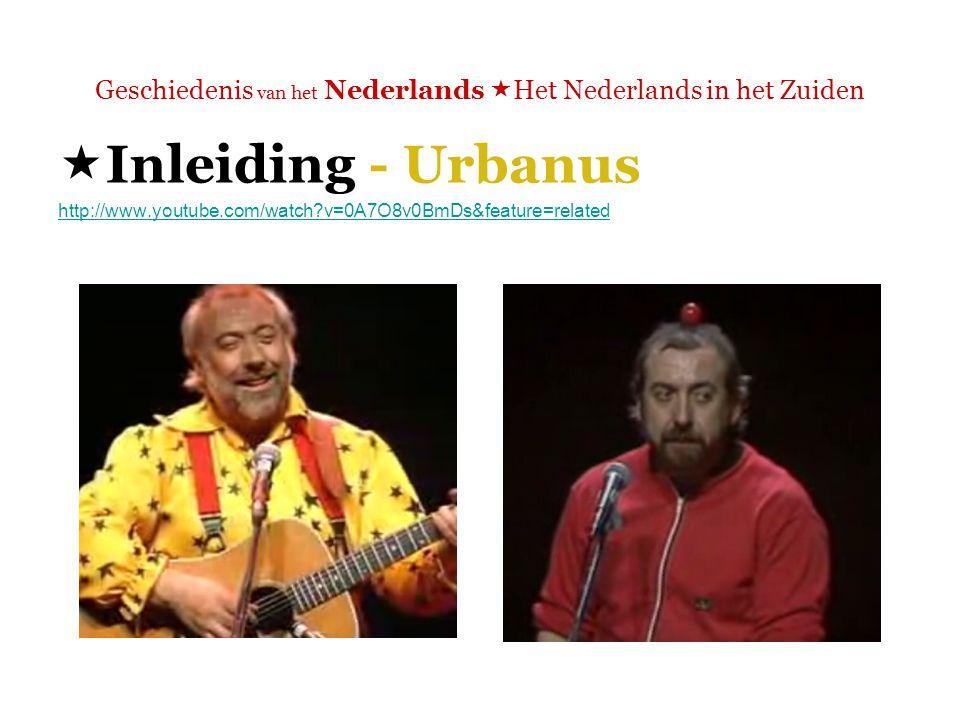 Geschiedenis van het Nederlands  Het Nederlands in het Zuiden  Lectuur (optioneel)  'Het Nederlands in het Zuiden: een verhaal apart'.