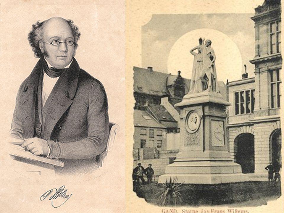 Geschiedenis van het Nederlands  Het Nederlands in het Zuiden 1.De geboorte van de Vlaamse Beweging JAN FRANS WILLEMS De vader van de Vlaamse Beweging