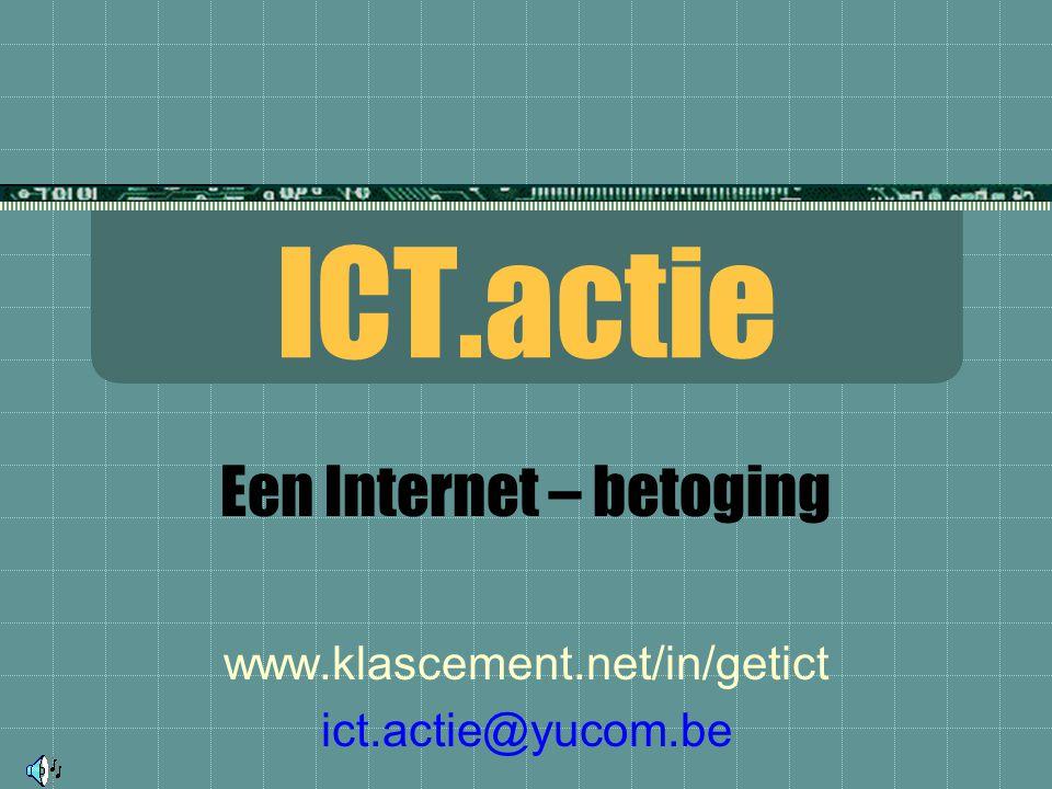 ICT = Informatie- en Communicatie Technologie