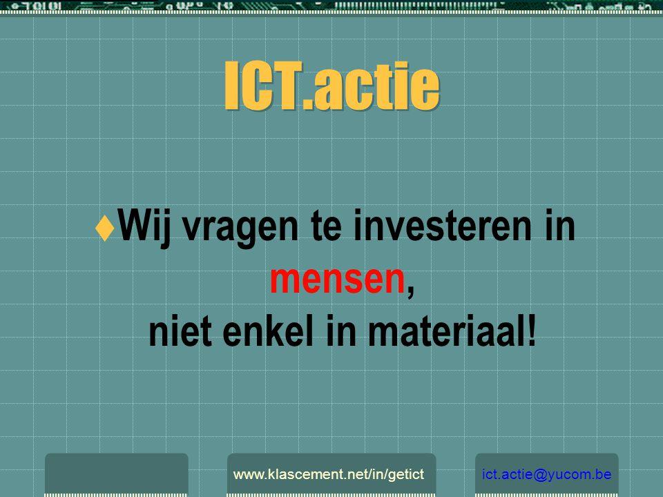 ICT- coördinatoren Gratis werknemers in het onderwijs.