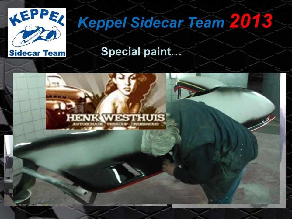 Keppel Sidecar Team 2013 Ontwerp & Bestickeren