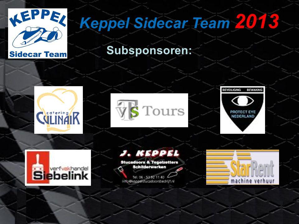 Keppel Sidecar Team 2013 Louis Christen LCR-F1 #13002