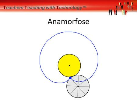 Teachers Teaching with Technology™ Anamorfose. Teachers Teaching with Technology™ Anamorfose Wiskunde met spiegels Bert Wikkerink.