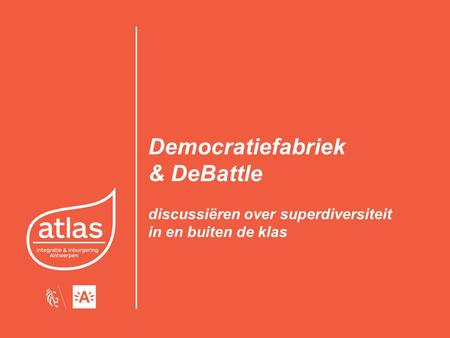 Democratiefabriek & DeBattle discussiëren over superdiversiteit in en buiten de klas.