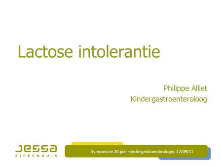 Philippe Alliet Kindergastroenteroloog