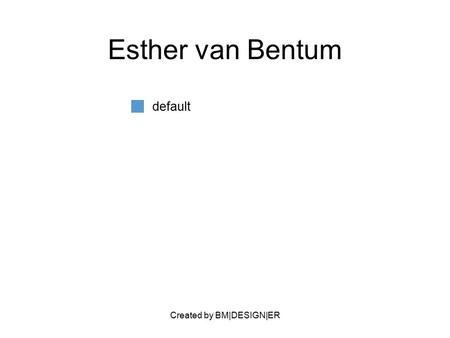Created by BM|DESIGN|ER Esther van Bentum default.