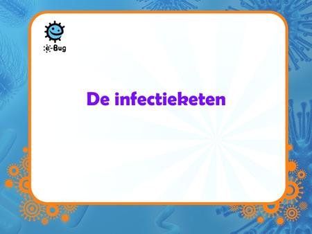 De infectieketen.