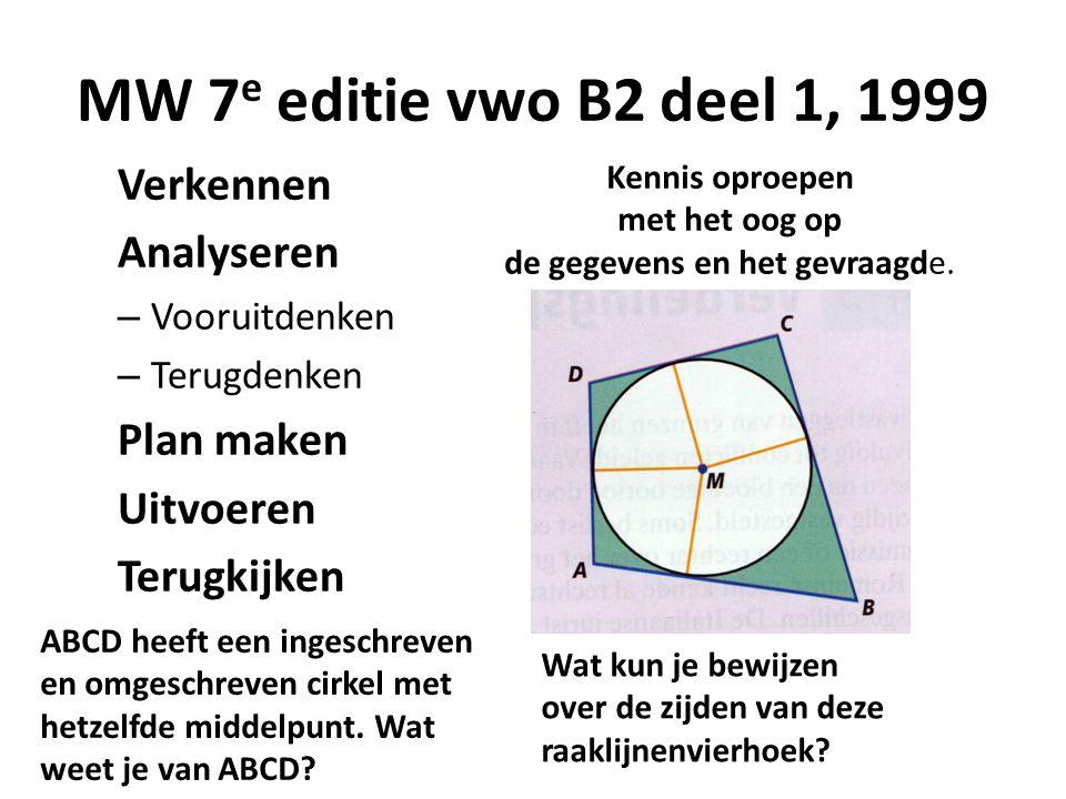 Vwo wiskunde B 2013: Gevraagd lengte OP cos α sin α sin α+cos α-1 P O Q