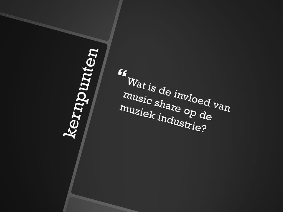 kernpunten  Voorwaarden van music share