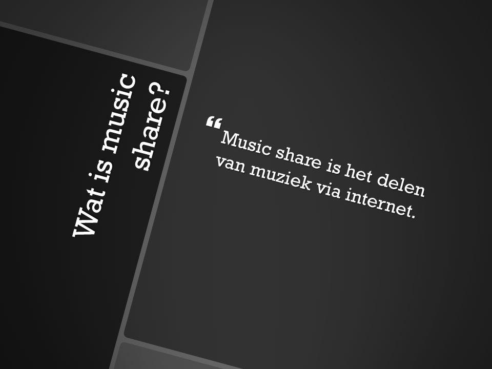 Wat is music share?