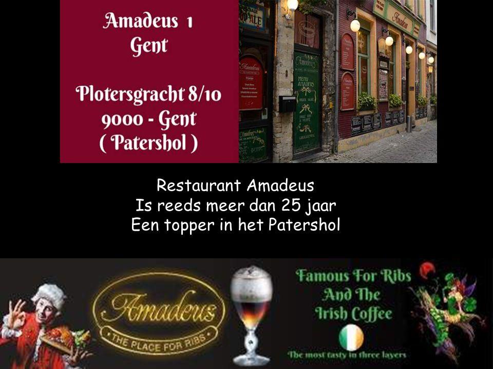 Restaurant Amadeus Is reeds meer dan 25 jaar Een topper in het Patershol