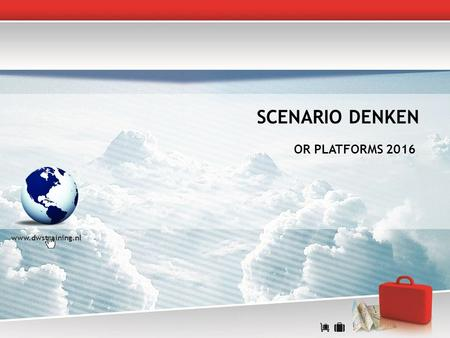 SCENARIO DENKEN OR PLATFORMS 2016