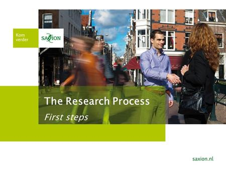 The Research Process: the first steps to start your reseach project. Graduation Preparation