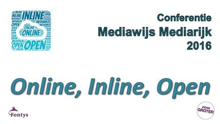 13:00 uurOpening 13:10 uurKeynote door dr.ir. Robert Schuwer (Lector Open Educational Resources – FH ICT) 14:10.