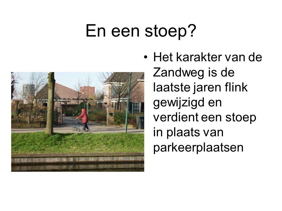 Samenvatting Zandweg Oost Fietsstraat maken op het drukke deel Hele route asfalteren (rood) Aansluiting B.
