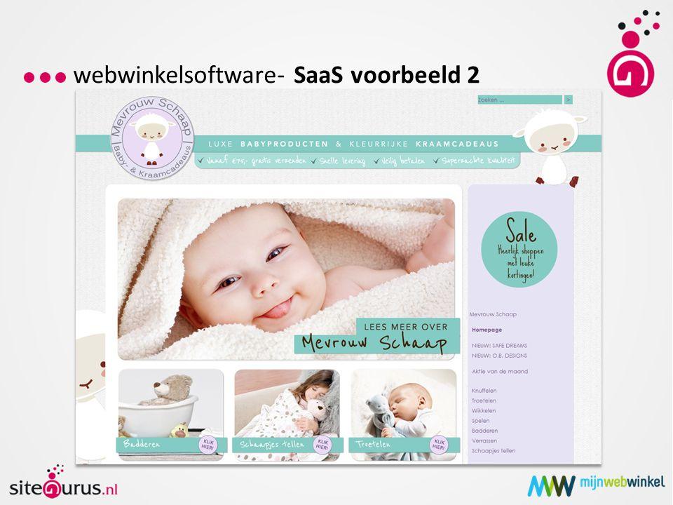 webwinkelsoftware – open source (eigen website)