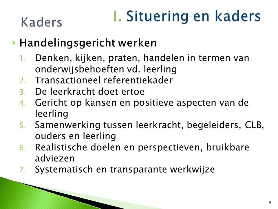  Onderwijs- en opvoedingsbehoeften van leerlingen worden vertaald in maatregelen, die afgestemd worden op de individuele leerling Bv.