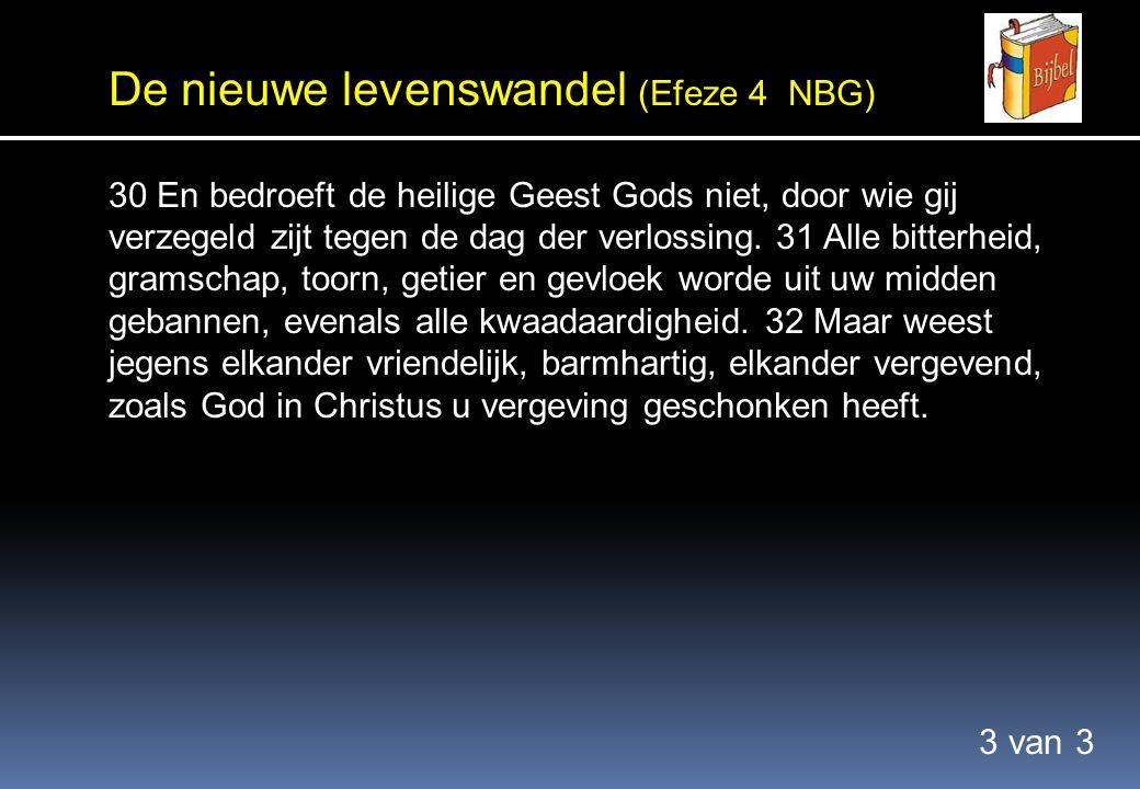 Samenvatting In het plan van God Het plan van God kennen