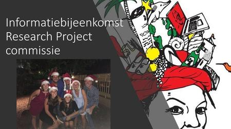 Informatiebijeenkomst Research Project commissie