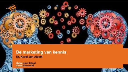 De marketing van kennis
