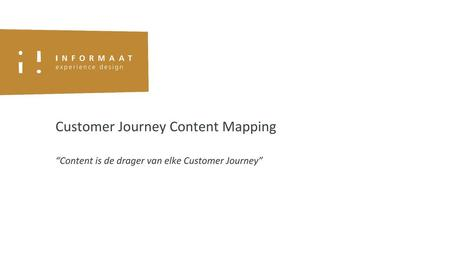 Customer Journey Content Mapping