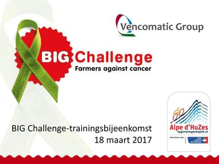 BIG Challenge-trainingsbijeenkomst