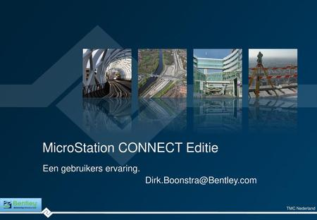 MicroStation CONNECT Editie