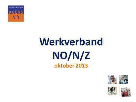Werkverband NO/N/Z oktober 2013.