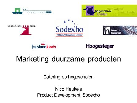 Marketing duurzame producten