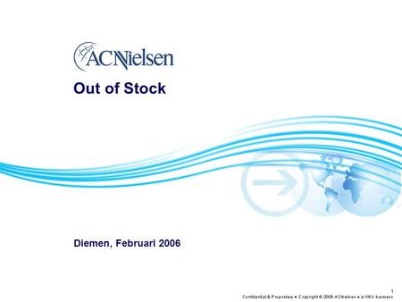 Out of Stock Diemen, Februari 2006.