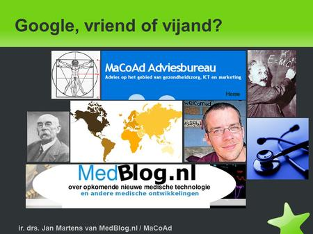 Google, vriend of vijand?