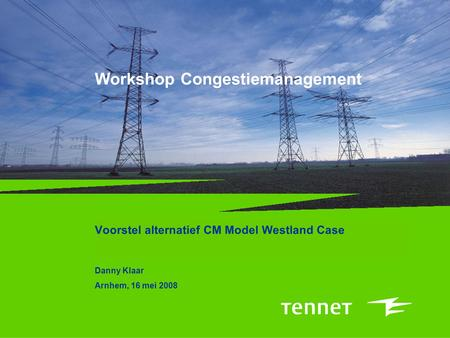 Workshop Congestiemanagement