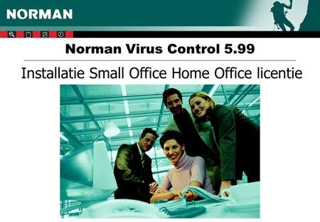 Norman Virus Control 5.99 Installatie Small Office Home Office licentie.