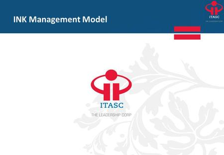INK Management Model.