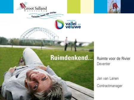 P en beamer Deventer Jan van Lanen Contractmanager.