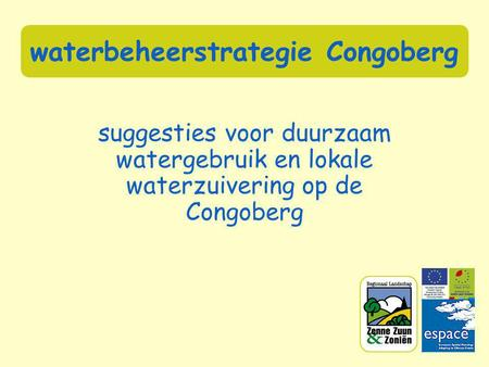 Waterzuivering rietveld oppervlakte