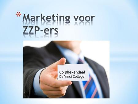 Marketing voor ZZP-ers