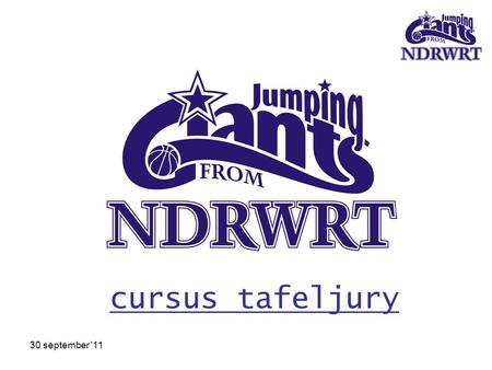 cursus tafeljury 30 september '11