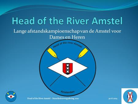 Head of the River Amstel