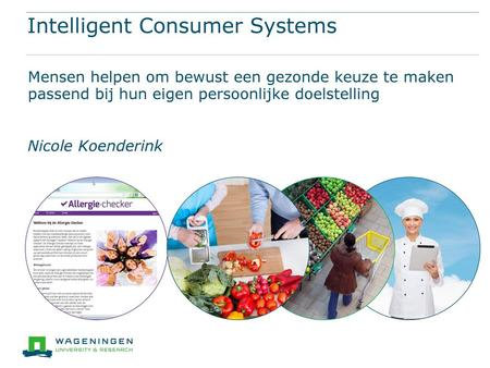 Intelligent Consumer Systems