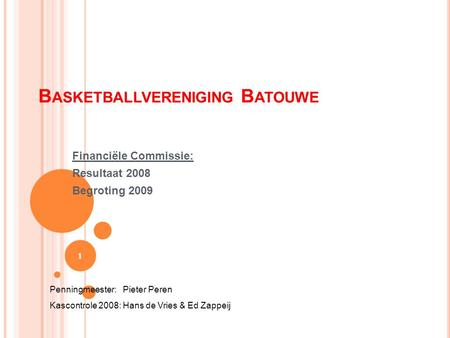 Basketballvereniging Batouwe