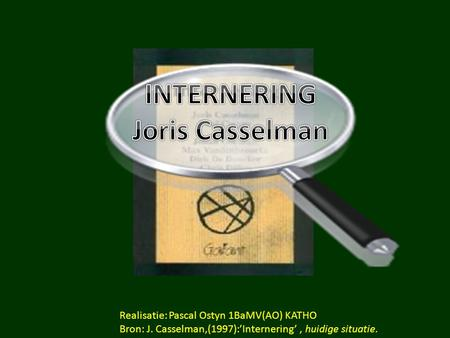 INTERNERING Joris Casselman