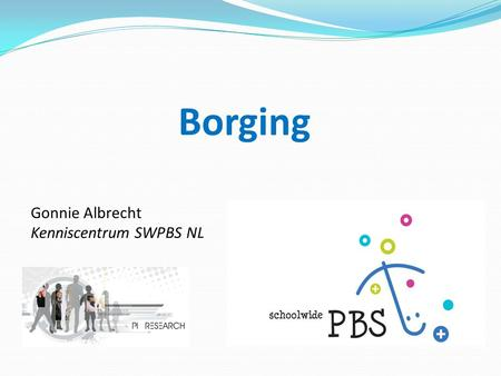 Borging Gonnie Albrecht Kenniscentrum SWPBS NL 1 1.