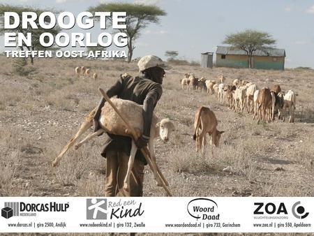 hoorn van afrika droogte