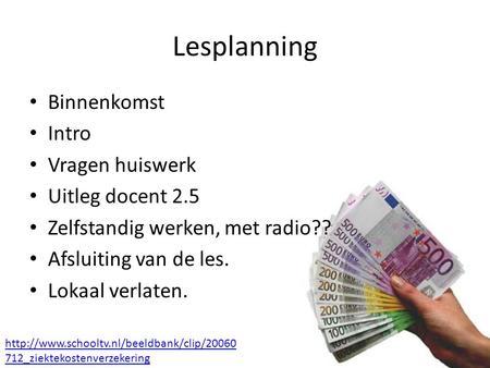 Geldschepping uitleg
