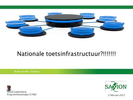 Nationale toetsinfrastructuur?!!!!!!!