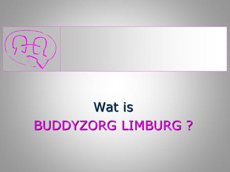 Wat is BUDDYZORG LIMBURG ?